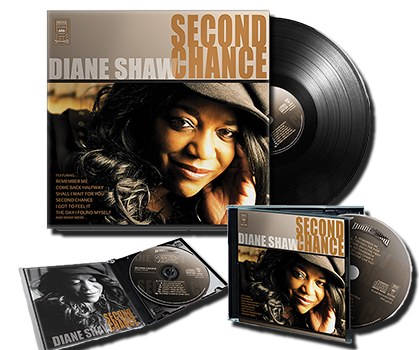 Second Chance ALBUM LP and CDs