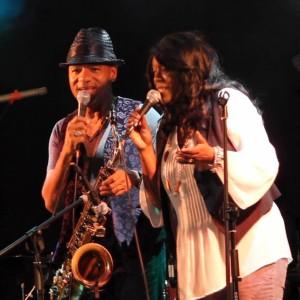 Performing with Grammy Award winning artist Kirk Whalum