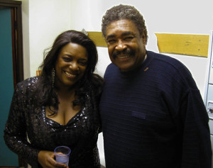 Performing with Soul Star George McCrae